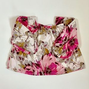 3/$25 ❤️ Baby Gap Baby Girl Floral Top